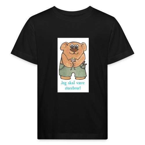 Jeg skal være storebror Bamse - Organic børne shirt