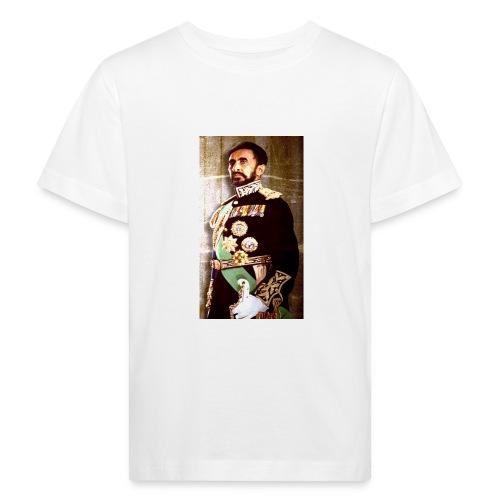 Haile Selassie Trajado jpg - Kinder Bio-T-Shirt