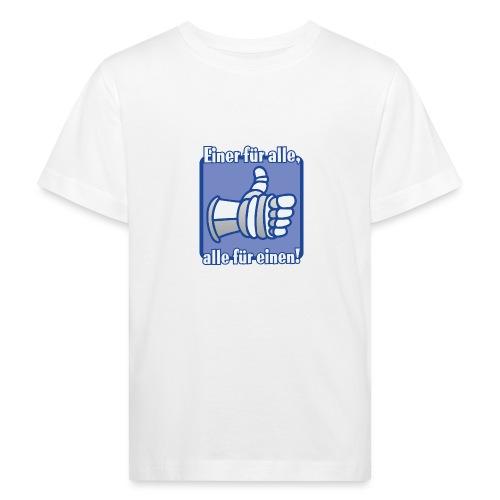 Kinder Langarmshirt - Einer für alle, alle für e - Kinder Bio-T-Shirt