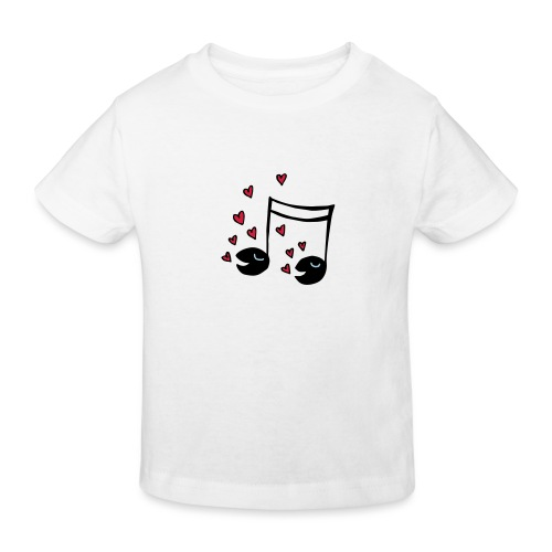 Love tunes - Kinder Bio-T-Shirt