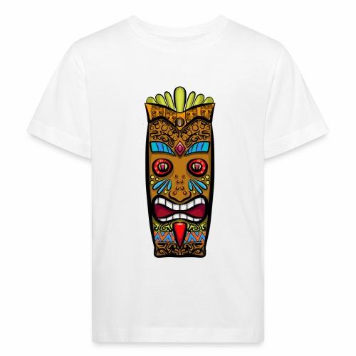 Máscara Tribal - Camiseta ecológica niño