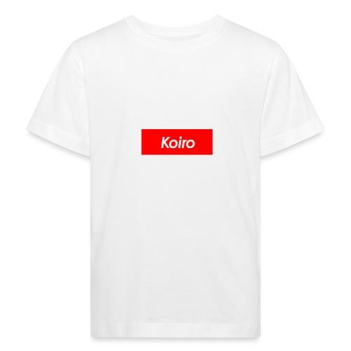 Koiro - Punainen - Lasten luonnonmukainen t-paita