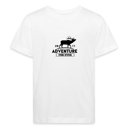 ADVENTURE FOR EVER - CERVO - Maglietta ecologica per bambini