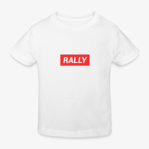 Rally classic red - Ekologisk T-shirt barn