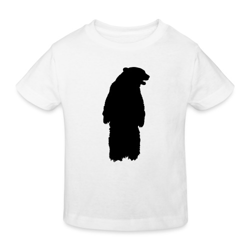 SB ZOO LOGO BEAR - Kinder Bio-T-Shirt