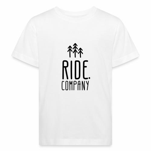 RIDE.company Logo - Kinder Bio-T-Shirt