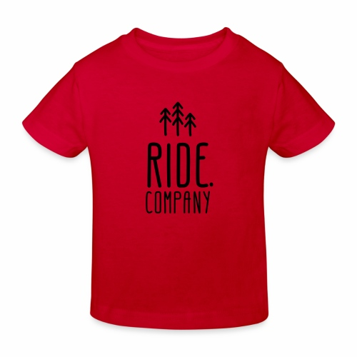 RIDE.company Logo - Kinder Bio-T-Shirt