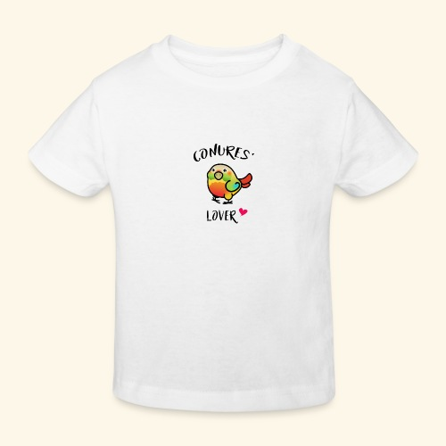 Conures' Lover: Ananas - T-shirt bio Enfant