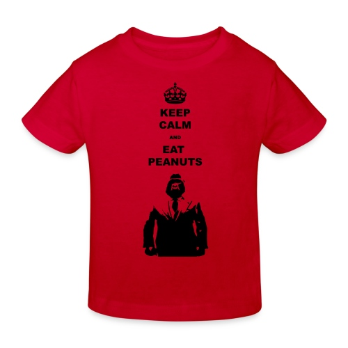 Keep calm eat pindas - Kinderen Bio-T-shirt