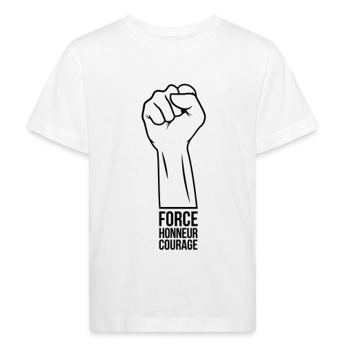 Force Honneur Courage - T-shirt bio Enfant