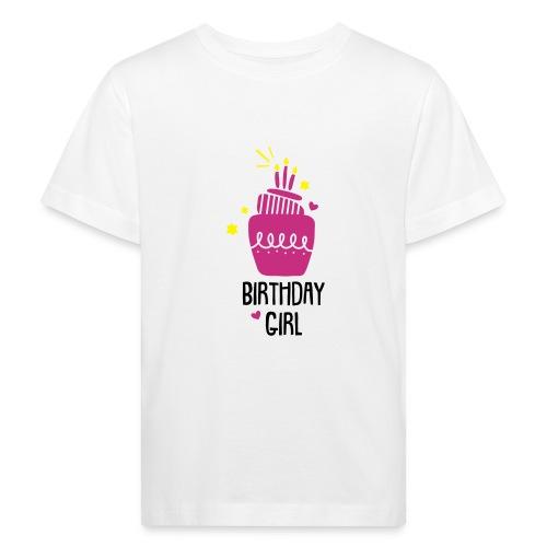Geburtstagsshirt Mädchen - Kinder Bio-T-Shirt