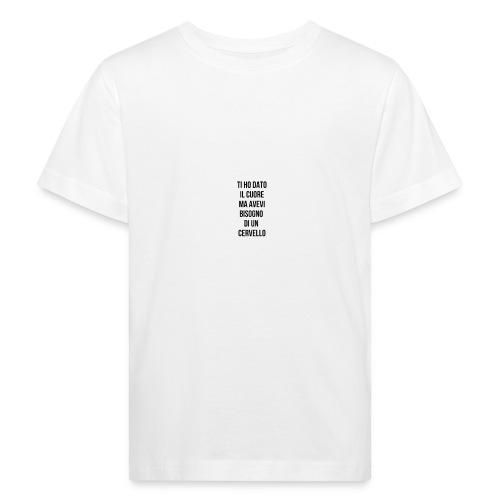 frasi fatte citazioni - Maglietta ecologica per bambini