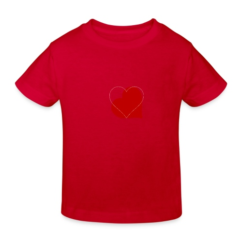 Kærlighed - Organic børne shirt