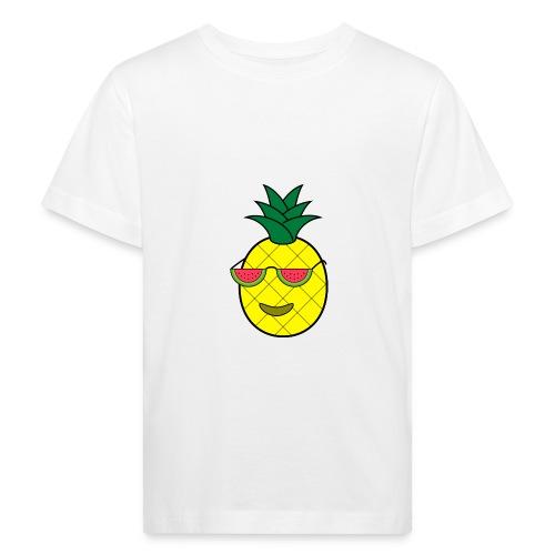 Cool pineapple - Kids' Organic T-Shirt