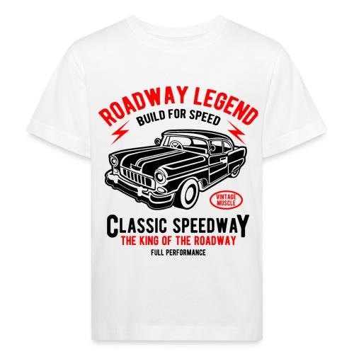 Roadway Legend Build for Speed - Kinderen Bio-T-shirt