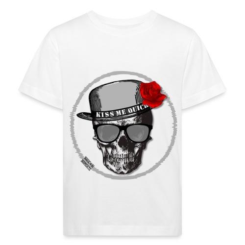 Kiss Me Quick - Kids' Organic T-Shirt