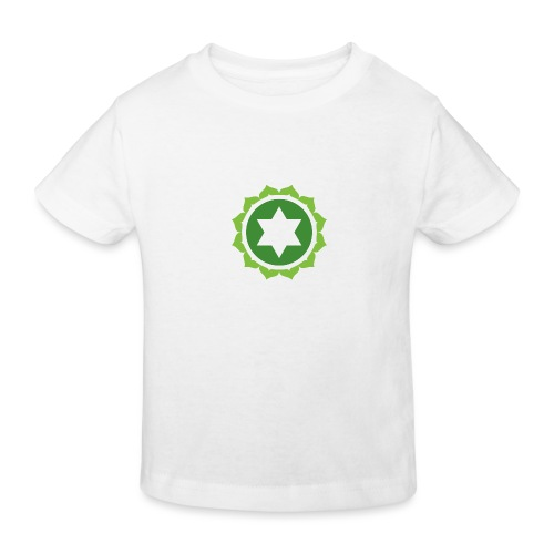 The Heart Chakra, Energy Center Of The Body - Kids' Organic T-Shirt
