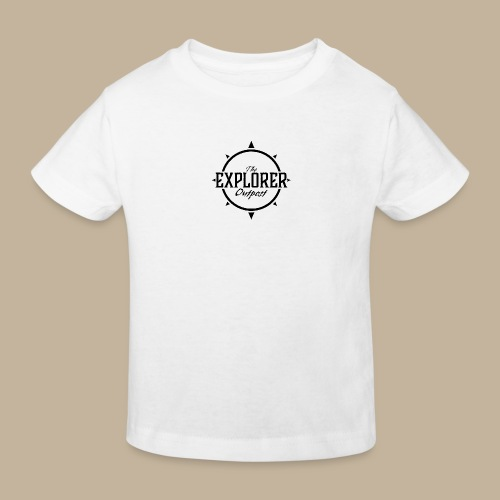 Black TEO Logo - Kids' Organic T-Shirt