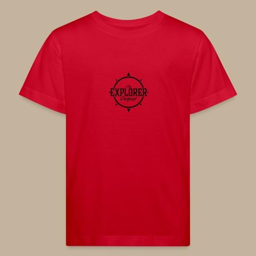 Black TEO Logo - Kids' Organic T-Shirt