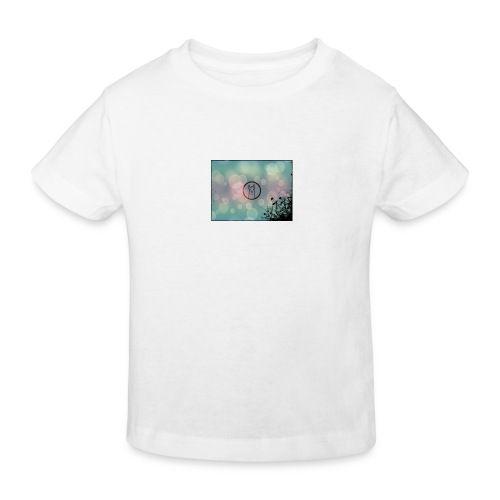 Llama in a circle - Kids' Organic T-Shirt