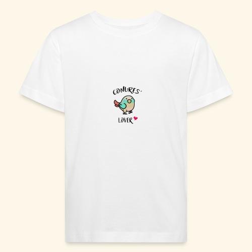 Conures' Lover: blue cinamon - T-shirt bio Enfant