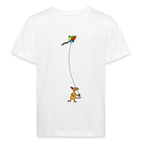 Drachensteigen - Kinder Bio-T-Shirt