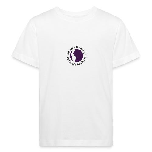 Suomen Doulat ry logo - Lasten luonnonmukainen t-paita