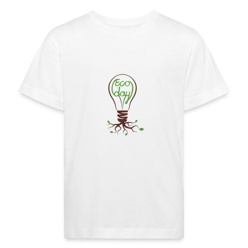Logotyp Ecoday genomskinlig för ljus bakgrund png - Ekologisk T-shirt barn