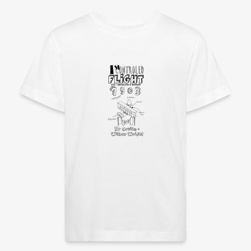 1stcontroled flight - T-shirt bio Enfant