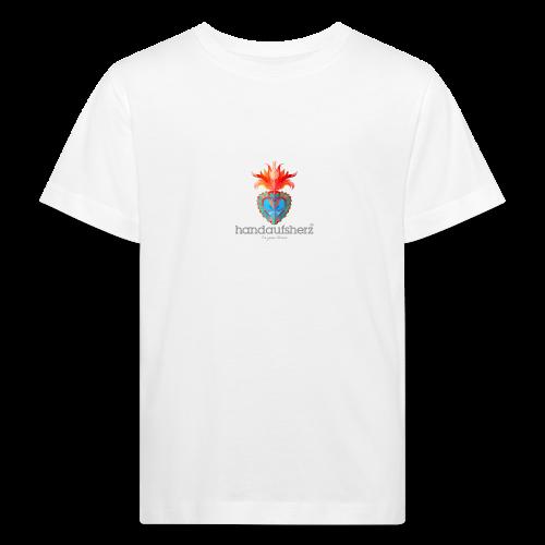 Hand aufs Herz - Kinder Bio-T-Shirt