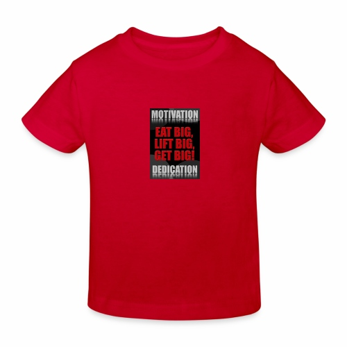 Motivation gym - Ekologisk T-shirt barn