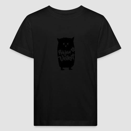 Veikko-pöllö - Lasten luonnonmukainen t-paita