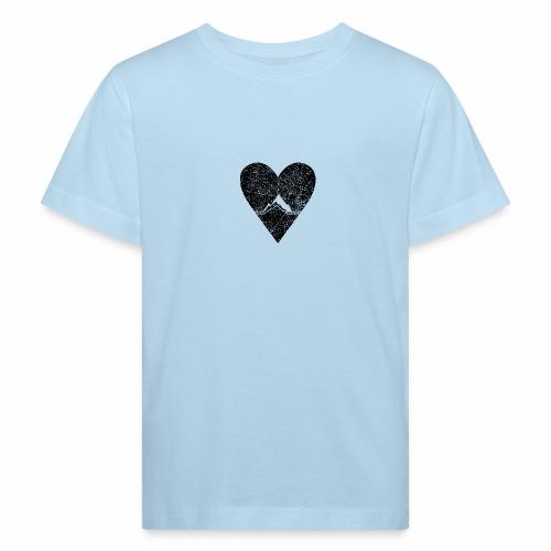 Bergliebe - used / vintage look - Kinder Bio-T-Shirt