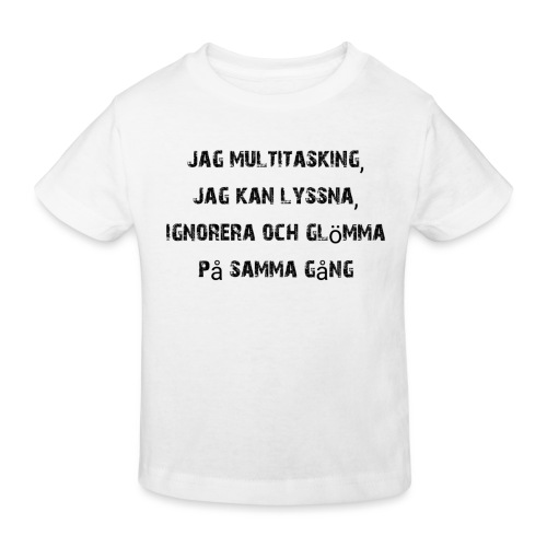 Multitasking - Kinderen Bio-T-shirt