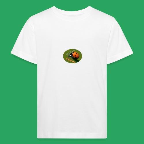 la scienza di Giacomo logo giusto tondo PNG - Maglietta ecologica per bambini