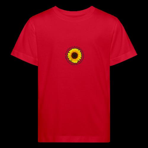 Sonnenblume - Kinder Bio-T-Shirt