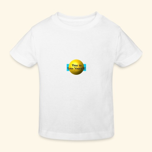 Time to Love Yourself - Kinder Bio-T-Shirt