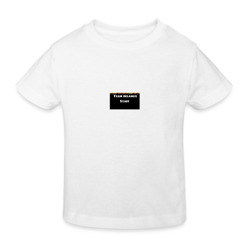 T-shirt staff Delanox - T-shirt bio Enfant