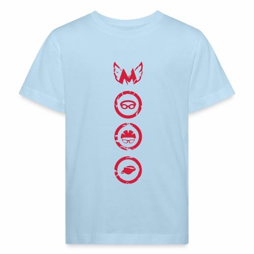 Mosso_run_swim_cycle - Maglietta ecologica per bambini