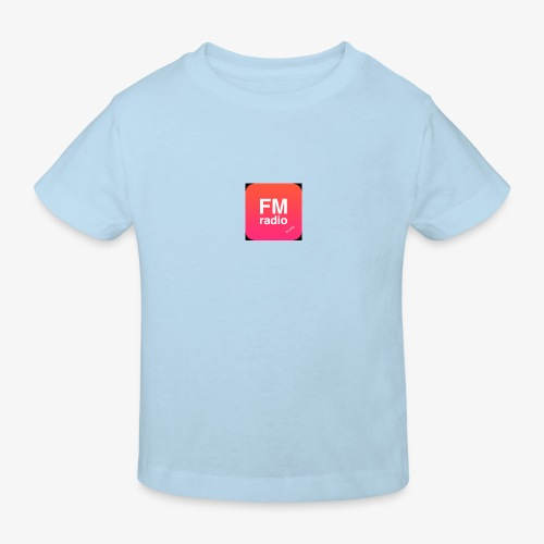 logo radiofm93 - Kinderen Bio-T-shirt