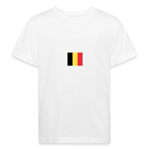 vlag be - Kinderen Bio-T-shirt