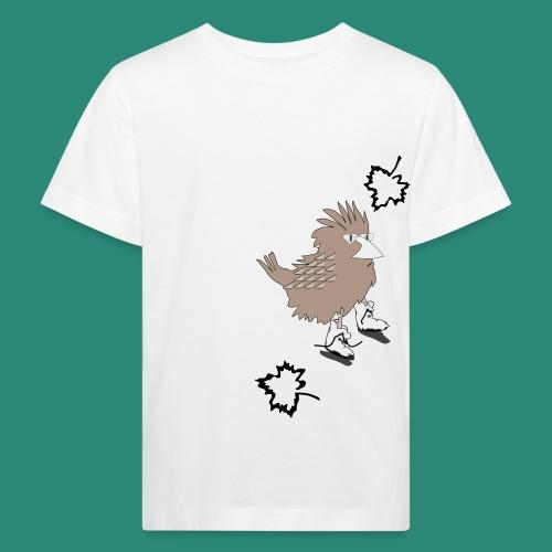 Ein Spatz - Kinder Bio-T-Shirt