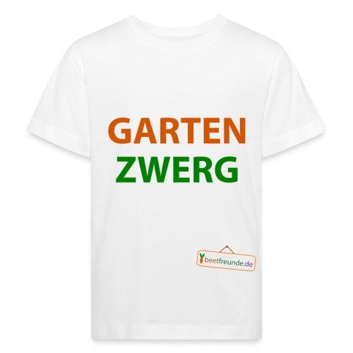 gartenzwerg - Kinder Bio-T-Shirt