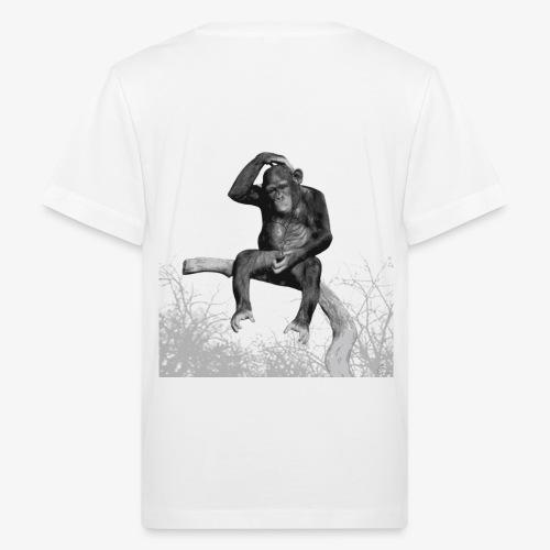 Monkey Music - Kids' Organic T-Shirt