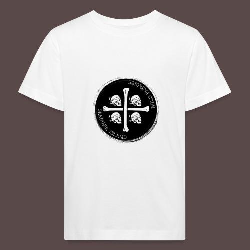 Sardegna Quattro Mori Pirata - Maglietta ecologica per bambini