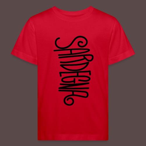 Sardegna Calligrafica - Maglietta ecologica per bambini