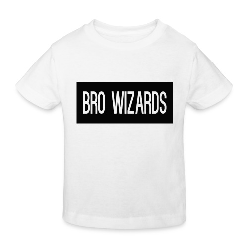 Browizardshoodie - Kids' Organic T-Shirt