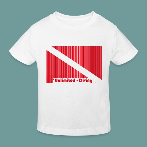 flag_barre_ud - T-shirt bio Enfant