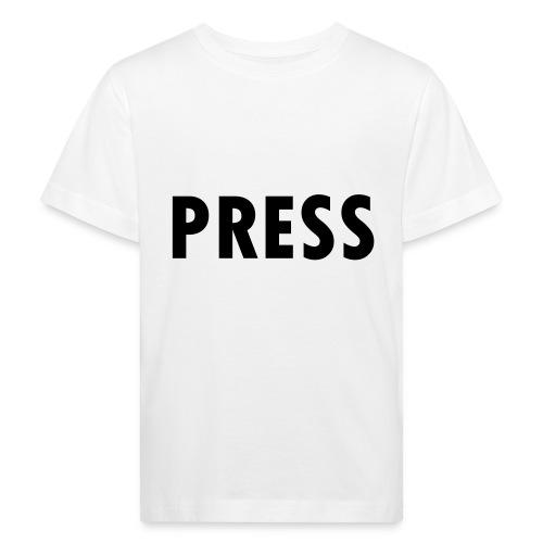 press - Kinder Bio-T-Shirt
