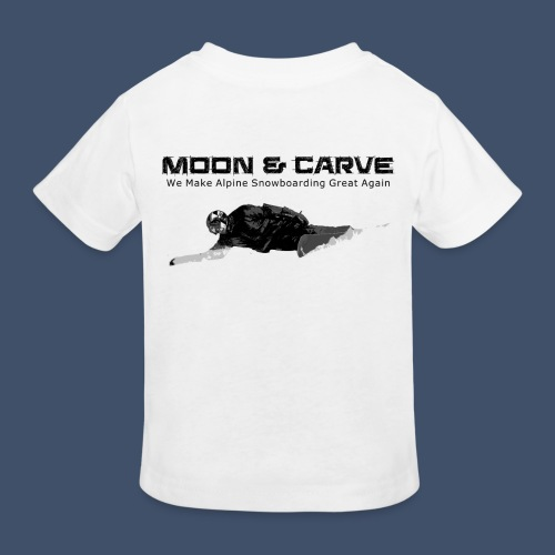 Moon & Carve Backside - Kinder Bio-T-Shirt